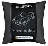 Подушка сувенирная с маркой авто мерседес Mercedes, фото 4