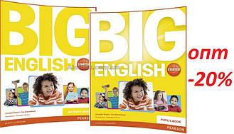 Английский язык / Big English Plus/ Pupil's+Activity Book. Учебник+Тетрадь (комплект), Starter/ Pearson
