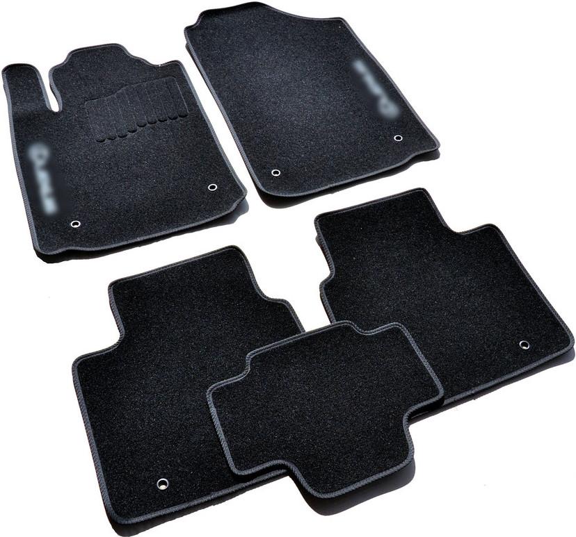 Коврики в салон ворсовые для Lexus ES (2006-2012) /Чёрные, 5шт BLCCR1287