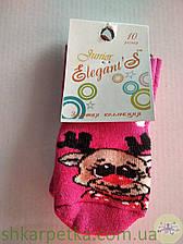 Дитячі новорічні махрові шкарпетки Elegant's