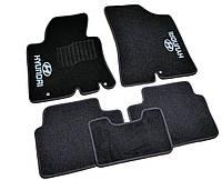 Коврики в салон ворсовые для Hyundai і30 (2012-) /Чёрные, кт 5шт BLCCR1227, фото 1