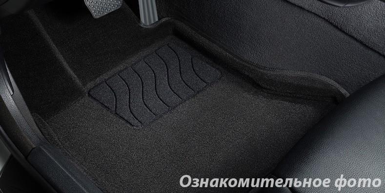 Коврики в салон 3D для Toyota Camry (V40) 2006-2011 /Черные 5шт 81969
