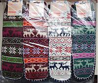 Женские теплые шерстяные носки