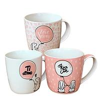 """Чашка фарфорова S&T """"Mon Amour"""" 280мл 2180-01"""