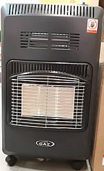 Газовий інфрачервоний обігрівач SuperGaz з вентилятором