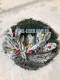 Венок новогодний рождественский d 35 см, фото 2