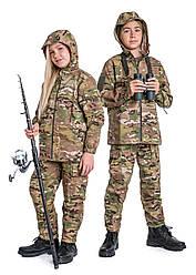 Костюм детский камуфляжный для мальчиков Лесоход 2 Мультикам