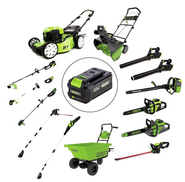 Аккумуляторный инструмент  Greenwork