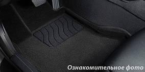 Килимки в салон 3D для Hyundai Santa Fe 2006-2010 /Чорні 5шт 81955