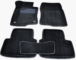 Килимки в салон 3D для Honda Accord VIII 2008-2012 /Чорні 5шт 86294