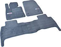 Коврики в салон ворсовые для Toyota Land Cruiser 200 (2007-2012) 5 мест /Серые, Premium GRLX1634, фото 1