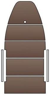 Жёсткое дно для моторных лодок Kolibri