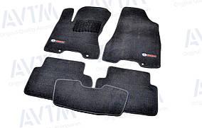 Килимки в салон ворсові для Nissan X-Trail T31 (2007-2014) /Чорні Premium BLCLX1433