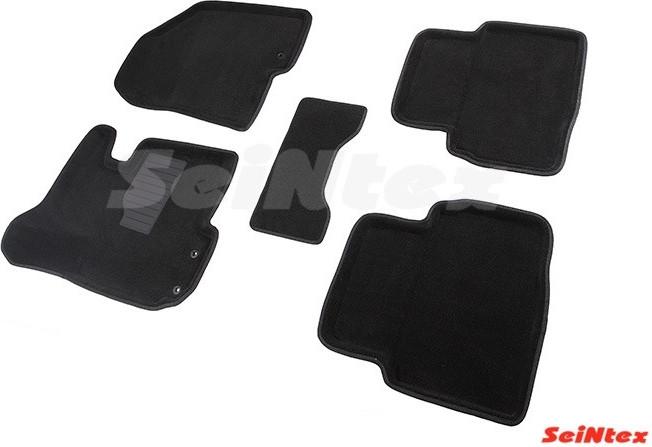 Коврики в салон 3D для Kia Sportage/Hyundai ix35 2010-2015 /Черные 5шт 82158
