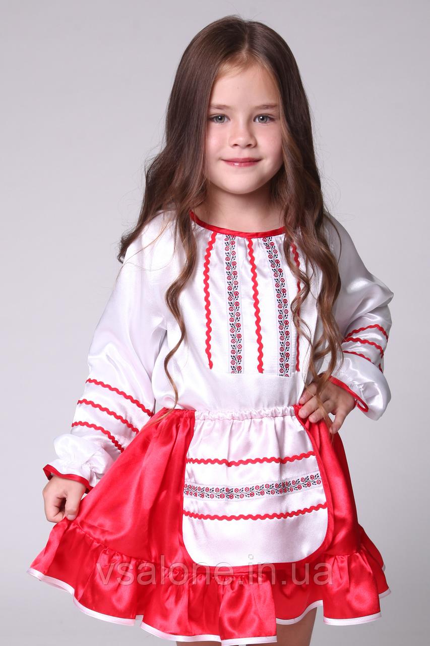 Дитячий карнавальний костюм для дівчинки Українка№2