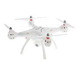 Квадрокоптер Syma X8 PRO с модулем GPS Белый, КОД: 2402716