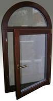 Окна деревянные из евробруса