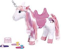Интерактивная Лошадка единорог для кукол Беби Борн Baby Born Zapf Creation (828854), фото 1