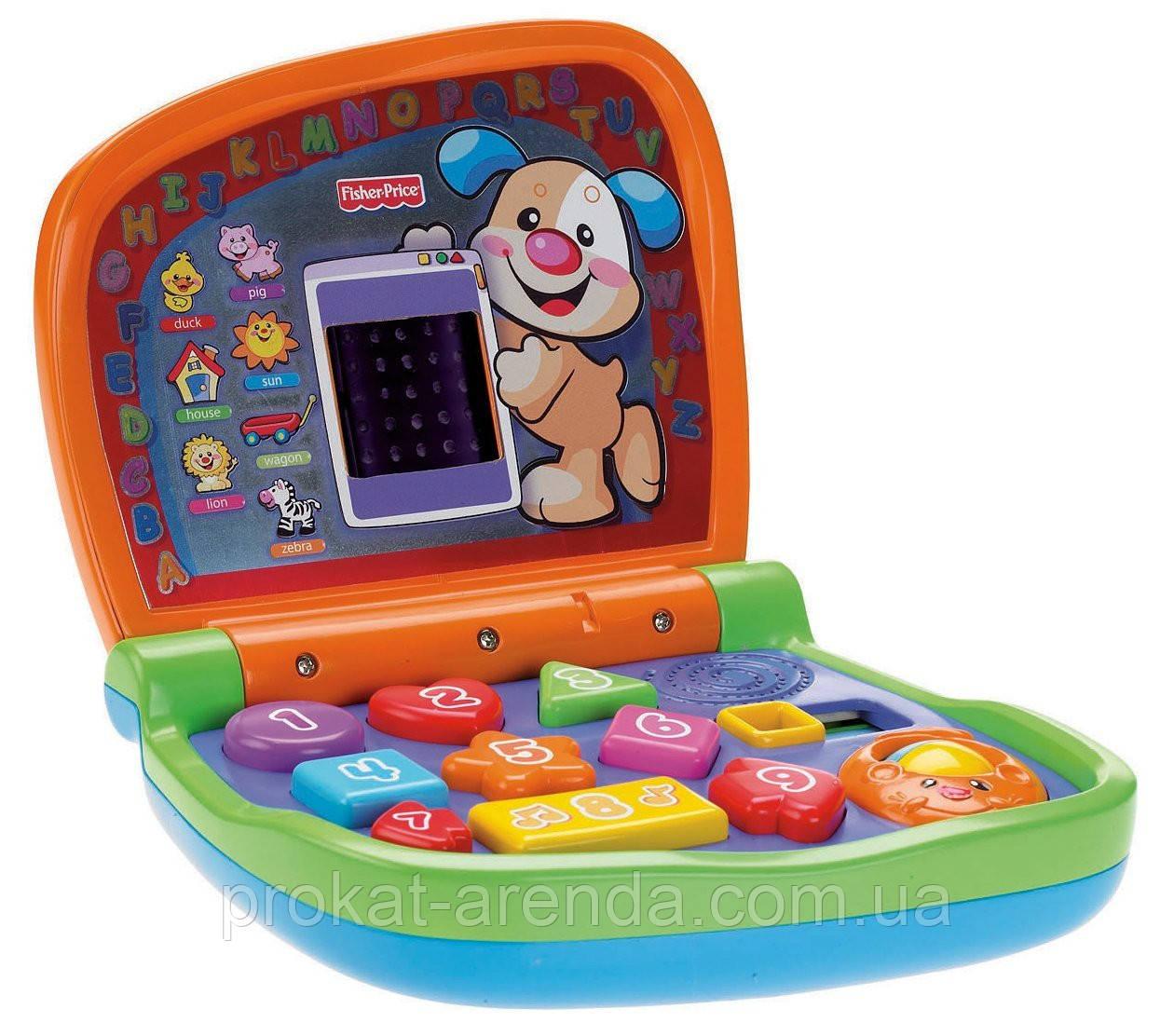 """Іграшка """"Ноутбук"""" від Fisher-Price"""