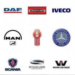 Автомобильные аксессуары , хром накладки для ТИР (грузовиков)