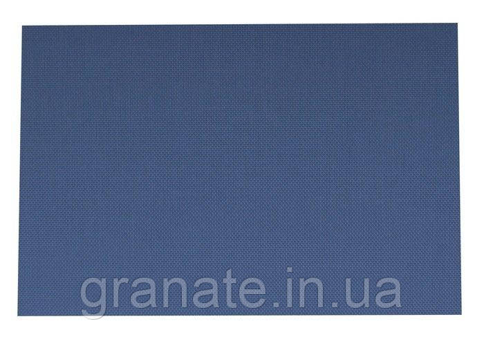 Коврик сервировочный под тарелку, цвет: синий 300*450 мм