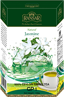 "Чай зеленый RansaR ""GP1"" Жасмин 100г."