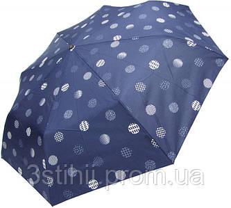 Зонт складной Doppler 730165NE02 полуавтомат Синий Горох