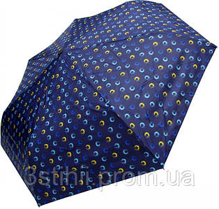 Зонт складной Derby 744165PHL-1 полный автомат Синий круги