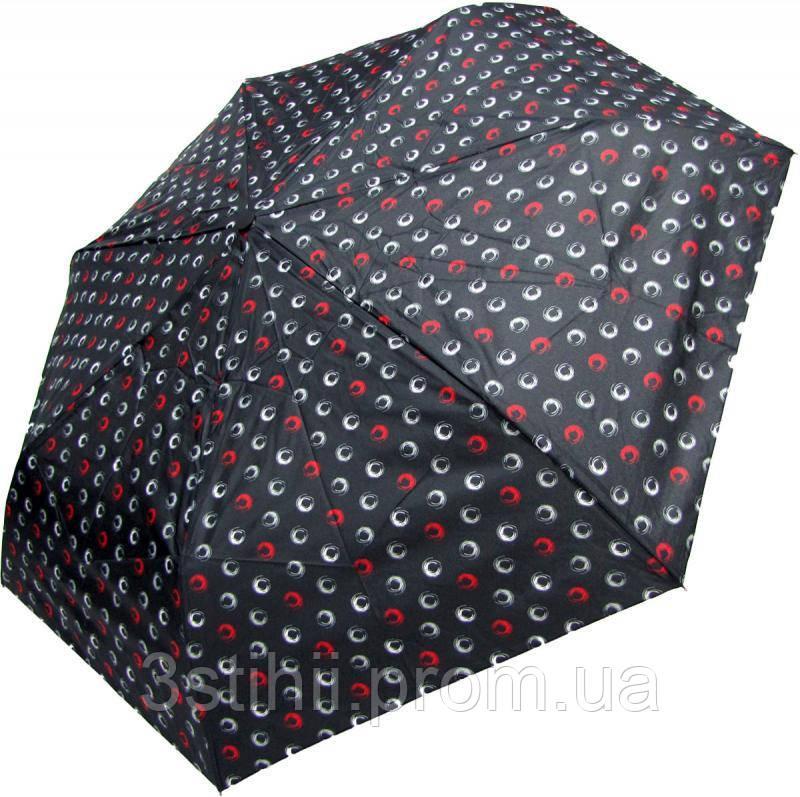 Зонт складной Derby 744165PHL-2 полный автомат Черный круги