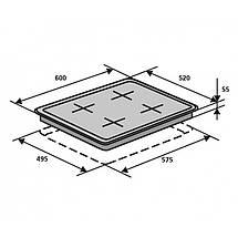 Комбинированная газово-индукционная варочная панель ELEGANT ING 6406, фото 3