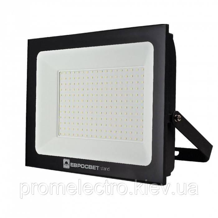 Прожектор светодиодный ЕВРОСВЕТ 200Вт 6400К EV-200-504 STAND 16000Лм