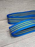 Лямки для турника Premium Ukraine (70 см) синий, фото 3