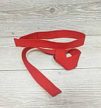 Лямки (ремни) для турника, становой тяги Premium Red (70 см) красный, фото 2