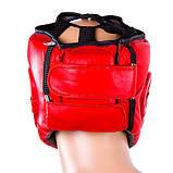 Шлем для бокса Everlast открытый красный, фото 2