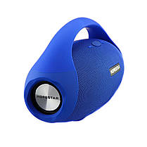 Портативная Bluetooth колонка Hopestar H31 Boombox Original Electric Blue, фото 3
