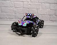 Детская трюковая машинка-багги RC Stund Car 869-33 перевертыш на радиоуправлении джип игрушка вездеход Черный