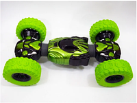 Детская трюковая машинка-перевёртыш Hyper Champions Climber трансформер вездеход на радиоуправлении Зеленый