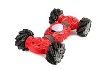 Детская трюковая игрушка машинка-перевёртыш Champions 2766 радиоуправление и управление с руки Красный