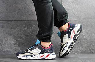 Мужские кроссовки Adidas balance life темно сині