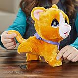 FurReal friends FRR PEEALOTS Big Wags CAT Hasbro интерактивная кошка фурриал на поводке, фото 3