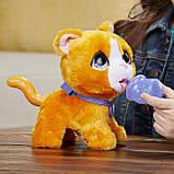 FurReal friends FRR PEEALOTS Big Wags CAT Hasbro интерактивная кошка фурриал на поводке, фото 5
