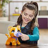 FurReal friends FRR PEEALOTS Big Wags CAT Hasbro интерактивная кошка фурриал на поводке, фото 7