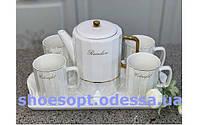 Набір чашок з блюдцями для кави еспрессо Berghoff 0,08 л 4пр.