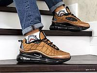 Кроссовки мужские найк в стиле 8778 Nike Air Max 720 темне золото термо