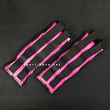 """Утяжелители для рук и ног """"HF ЭЛИТ"""" розовый 6.0 кг (2 шт по 3.0 кг)"""