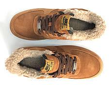Зимние мужские кроссовки Nike Air Force с мехом. ТОП Реплика ААА класса., фото 3