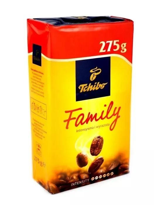 Кава Чібо Фемілі мелений 275 грам у вакуумній упаковці