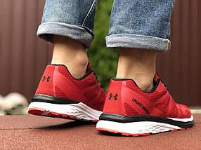 Кросівки чоловічі в стилі 9501 Under Armour червоні, фото 2
