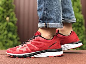 Кросівки чоловічі в стилі 9501 Under Armour червоні, фото 3