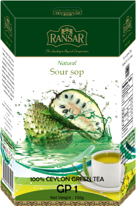 "Чай зеленый RansaR ""GP1"" Саусеп 100г."